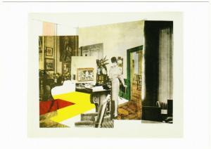 Interior by Richard Hamilton Pop Art Postcard