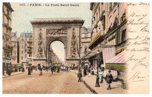 France Paris   La Poste Saint Denis