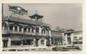 RP: LOS ANGELES , California , 1930-40s ; Rice Bowl Restaurant , New Chinatown