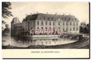 Old Postcard Chateau De Lignieres
