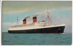 Liner RMS 'Queen Elizabeth' PPC, By Salmon, Southampton 1966 PMK To Poole, GB