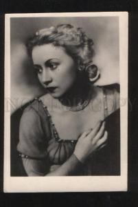 069435 ULANOVA Russian BALLET Star JULIET old PHOTO
