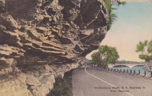 Missouri Noel Overhanging Bluffs U S Highway 71 1917