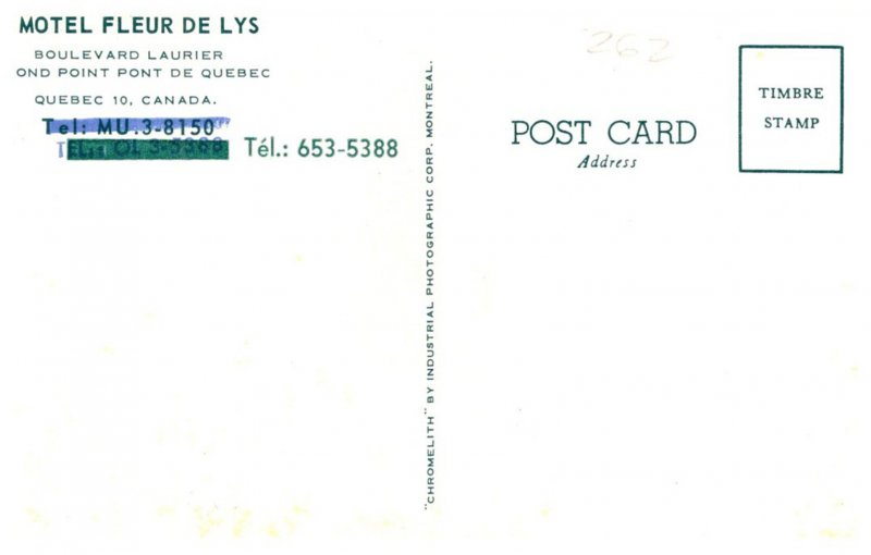 Canada  Quebec  Motel  Fleur de Lys