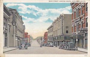 Kentucky Hopkinsville Main Street Looking South Curteich