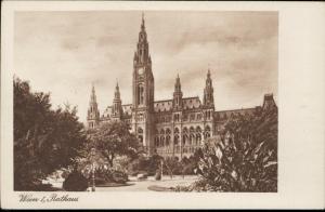 Wien Vienna Rathaus