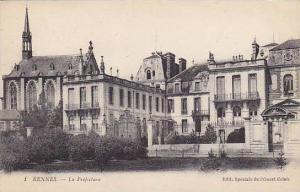 La Prefecture, Rennes (Ille-et-Vilaine), France, 1900-1910s