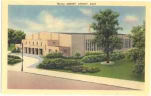 Linen of Naval Armory Detroit Michigan MI