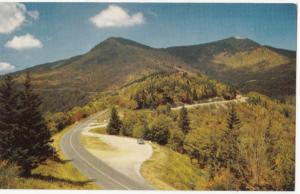 Mount Mitchell Intersection, NC, 1950s unused Postcard