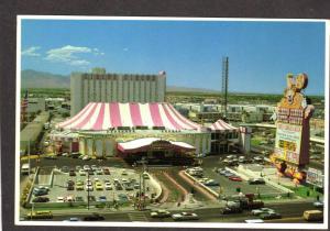 NV Circus Circus Hotel Casino Las Vegas Nevada Postcard