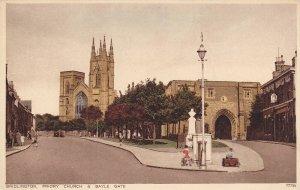 Bridlington, Priory Church & Bayle Gate, Yorkshire, England, United Kingdom, ...