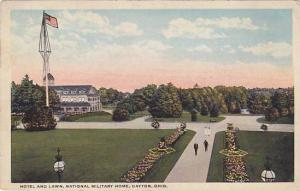 Hotel and Lawn, National Military Home, Dayton,  Ohio, 00-10s