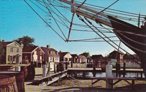 Mystic Seaport A Living Martme Museum In Mystic Connecticut 1980