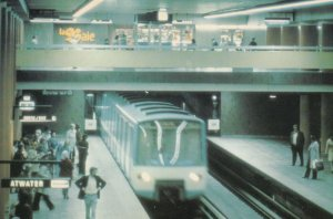 MONTREAL , Quebec , Canada , 1986 ; Subway