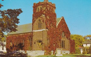 EAGLE RIVER, Wisconsin, 1940-1960's; First Congregational Church