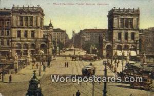 Berlin Germany, Deutschland Postcard Belle Alliance Place  Belle Alliance Place