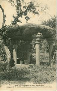 Isle de St-Germain, pres Confolens, Dolmen dit St-Madelaine