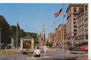 America Postcard - Tremont Street Mall - Boston - Massachusetts - 16268A
