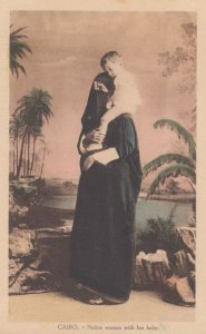 CAIRO , Egypt , 00-10s ; Native woman with her baby