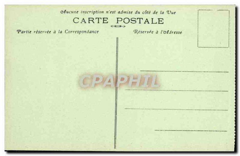Old Postcard Douaumont Statue Of Resignation Army