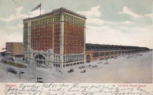CHICAGO, Illinois, PU-1906; La Salle Street Depot
