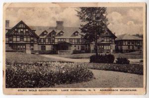 Stony Wold Sanatorium, Lake Kushaqua NY, Adirondacks