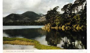 Post Card Cumbria Lake District Derwentwater Friars Crag and Causey Pike Jarrold