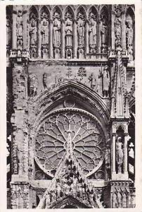 France Reims La Cathedrale Facade