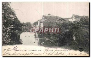 Old Postcard Vittel Vosges Old Town