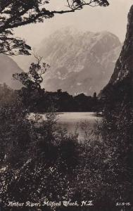 RP, Arthur River, Mountains, Milford Track, New Zealand, 1920-1940s