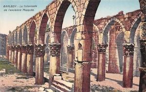 Lebanon Baalbek - La Colonnade de l'ancienne Mosquee