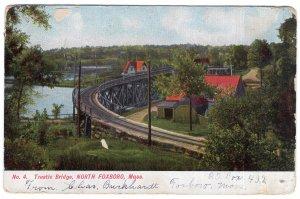North Foxboro, Mass, Trestle Bridge