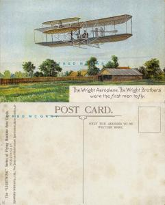 1910 Pioneer Aviation PC: Wright Biplane, Lightning Series of Flying Machines