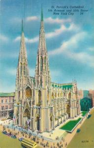 USA St. Patrick's Cathedral 5th Avenue 50th Street New York 01.68