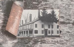 LOWELL , Massachusetts, 1900s-10s ; Old Middlesex Tavern