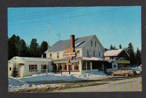 ME Kern's Inn Dining Room & Motel EUSTIS MAINE Postcard