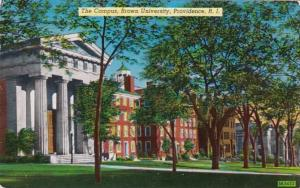 South Carolina Proovidence The Campus Brown University 1953