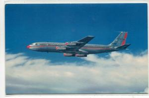 American Airlines Boeing 707 Flagship Plane Aircraft postcard