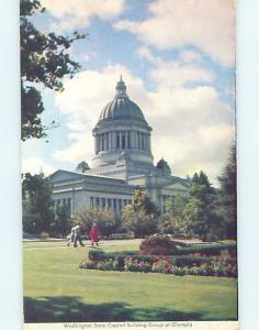 Unused Pre-1980 STATE CAPITOL BUILDING Olympia Washington WA G0796