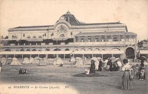 France Biarritz Le Casino Facade Kurhaus Plage Promenade Beach