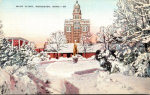 Minnesota Rochester Mayo Clinic In Winter