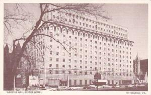 Pennsylvania Pittsburgh Free Parking For Room Guests Webster Hall Motor Hotel