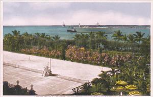 Bahamas Nassau View From Hotel Colonial