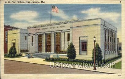 U.S. Post Office Hagerstown MD Unused