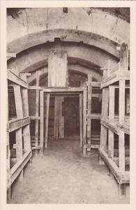 France Le Fort de Vaux Casemate Betonnee Logement des hommes