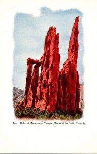 Colorado Garden Of The Gods Ruins Of Montezuma's Temple