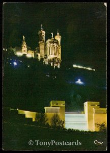 Lyon - Basilique de Fourvier - La Cascade d'aeu