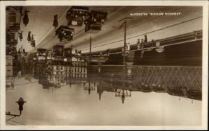 Glasgow Scotland Jamaica Bridge Old Cars Real Photo Postcard