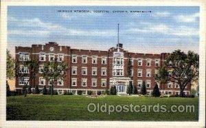 Newman Memorial Hospital, Emporia, Kansas, USA Medical Hospital Unused light ...