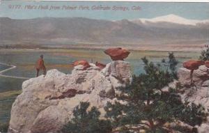 Colorado Colorado Springs Pikes Peak From Palmer Park